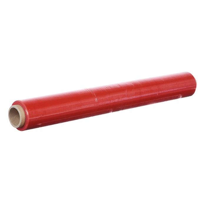 Стретч-пленка, красный, 500 мм х 70 м, 0,65 кг, 20 мкм