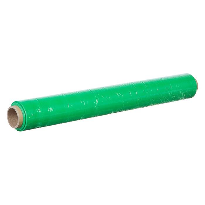 Стретч-пленка, зеленый, 500 мм х 70 м, 0,65 кг, 20 мкм