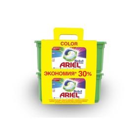 Капсулы для стирки 3 в 1 Ariel Color, 2 x 30 шт. по 27 г