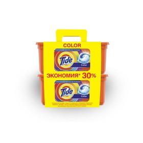 Капсулы для стирки Tide Color, 2 x 30 шт. по 24,8 г