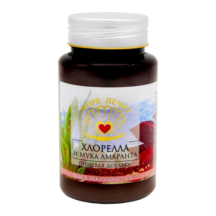 Пищевая добавка Бизорюк «Хлорелла + мука амаранта», 130 мл.