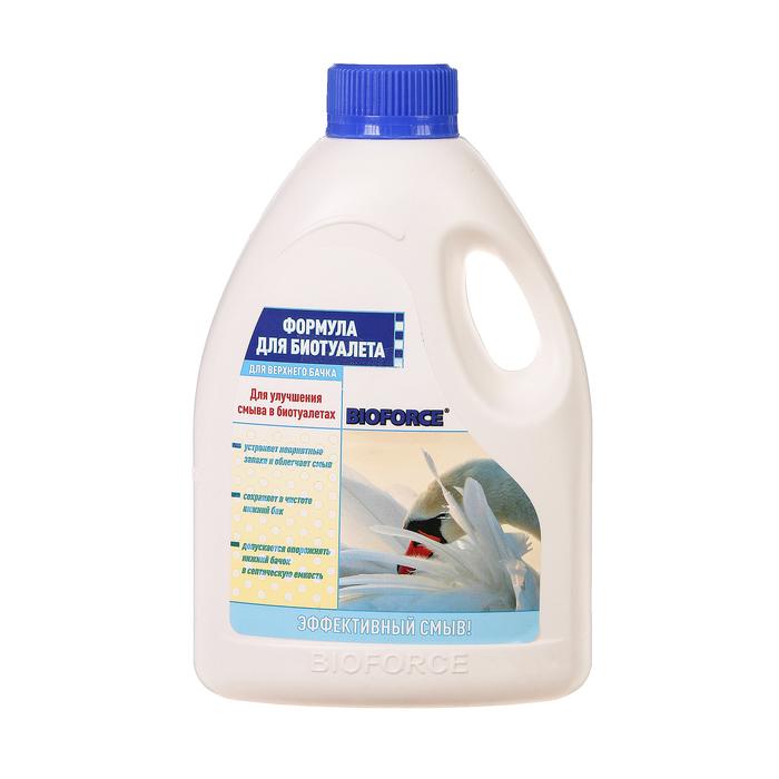 Жидкость для биотуалета BIOFORCE, 1 л, для верхнего бака, концентрат