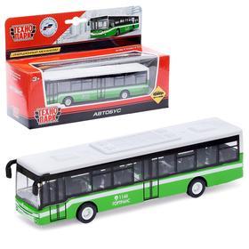 Автобус металлический 14.5 см, инерционный