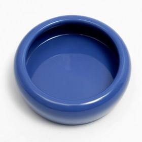 Миска керамическая 110 мл, голубая