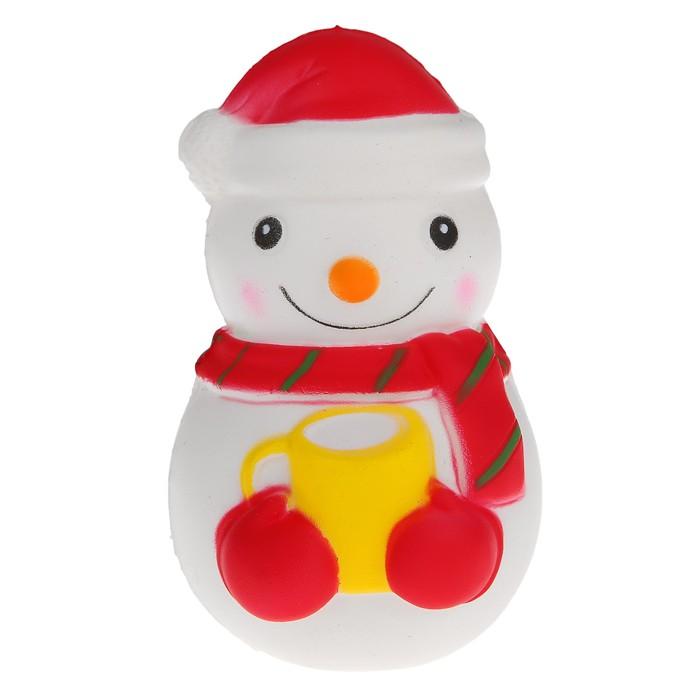 Мялка сквиши «Снеговик»