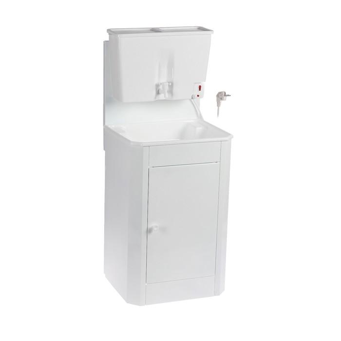 """Умывальник """"ТермМикс"""", с ЭВН, пластиковая мойка/бак, 1250 Вт, 17л, белый"""