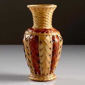 Кашпо «Ваза», 10×19 см, бамбук
