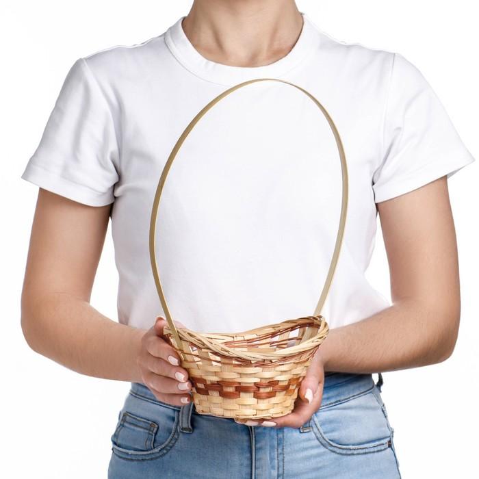 Корзина «Ладья», 18×16×6 см, бамбук - фото 1957907