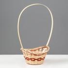 Корзина «Ладья», 18×16×6 см, бамбук - фото 1957908