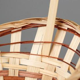 Корзина «Ладья», 18×16×6 см, бамбук - фото 1957909