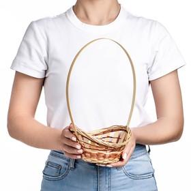 Корзина «Ладья», 16×13×6 см, бамбук Ош
