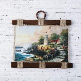 "Souvenir scroll ""the lighthouse"""