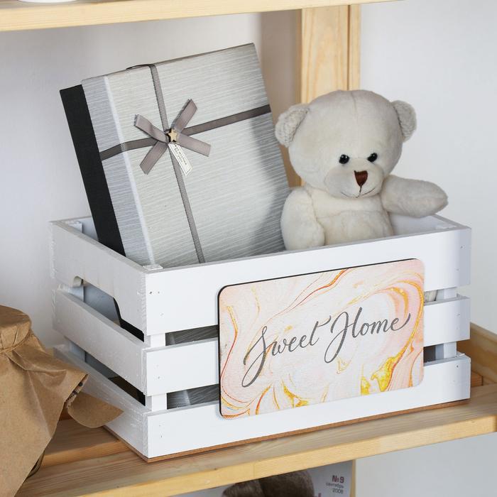 "Ящик для хранения ""Sweet home"" 30х15х20 см"