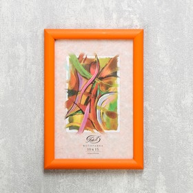 "Photo frame ""Orange"" plastic 10x15 cm"