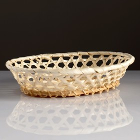 "Plate ""Twist"" 20×24×5 cm, bamboo"