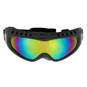 Очки для езды на мототехнике TORSO, стекло хамелеон, черный