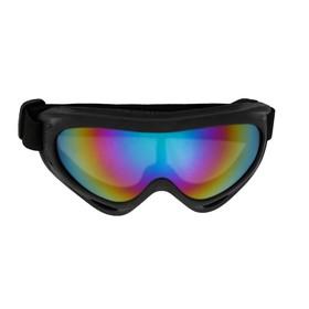 Очки для езды на мототехнике Torso, стекло фиолетовый хамелеон, черные