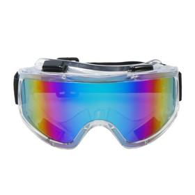 Очки-маска для езды на мототехнике Torso, стекло хамелеон, прозрачные