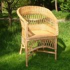 Кресло «Отрада», 60 × 60 × 95 см, натуральная лоза