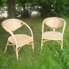 Кресло «Белые ночи», 50 × 46 × 90 см, натуральная лоза