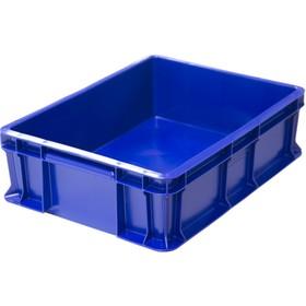 Ящик универсальный сплошной 400*300*120 синий