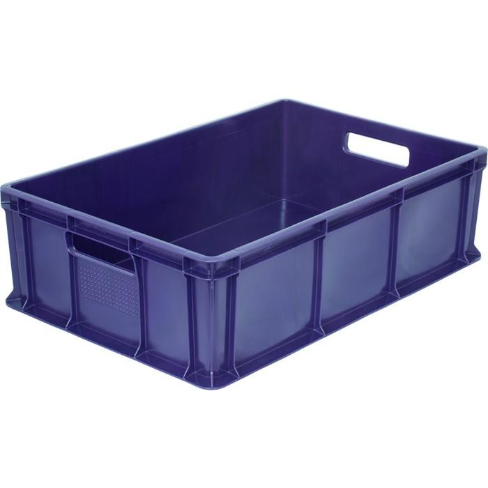 Ящик универсальный, сплошной 600*400*180 синий