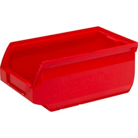 Лоток для склада Sanremo, сплошной, 170х105х75 красный