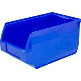 Лоток для склада Verona, сплошной 250х150х130 синий