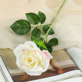 "Artificial flowers of ""rose's Arioso"" 10*55 cm, white"