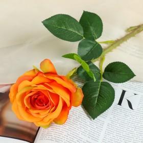 """Artificial flowers of """"rose of Columbia,"""" 8*46 cm, orange"""