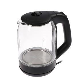 Чайник электрический EC-105, 1500 Вт, 1.8 л, черный