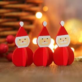 "3D new year decoration ""Santa Claus"""