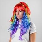 """Карнавальный парик """"Яркие кудри"""" 160 грамм"""
