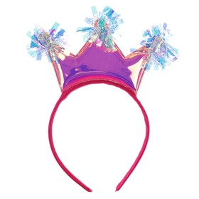 "Carnival headband ""Crown"", MIX colors"