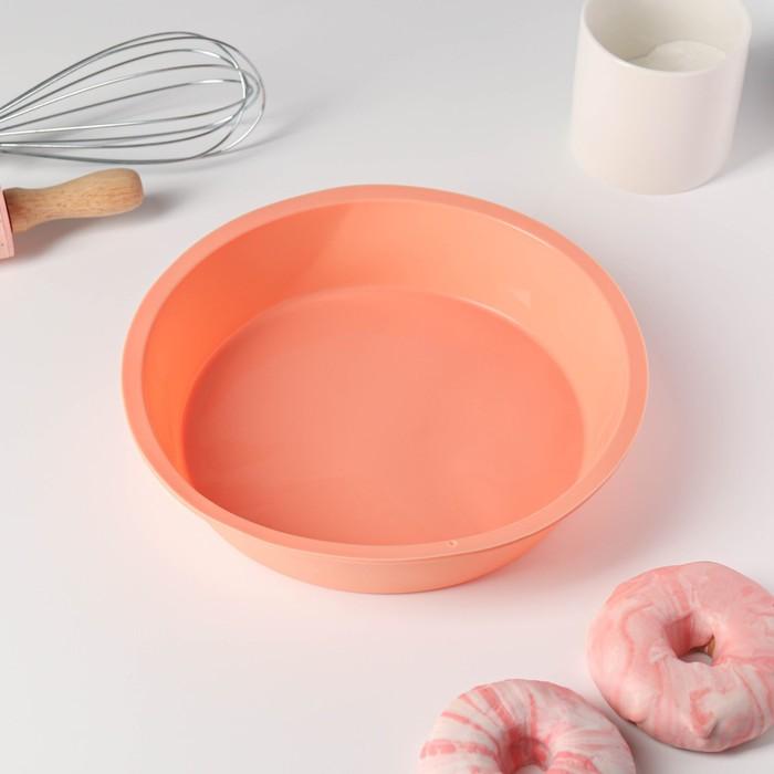"Baking dish, ""Circle of"" 22×22×4,5 cm, MIX color"