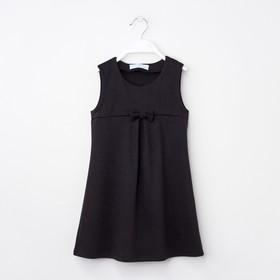 Платье KAFTAN рост 110-116, 32, чёрный
