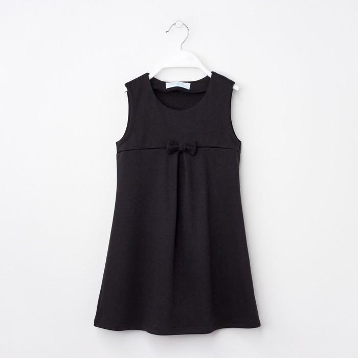 Платье KAFTAN рост 110-116, 32, чёрный - фото 76131195