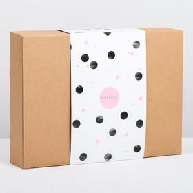 "Foldable box ""Gift"" 32x6,5x23 cm"