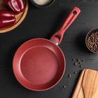 Сковорода кованая Master Star 20х4 см индукция, ручка soft-touch