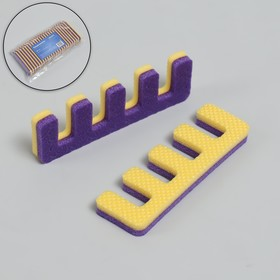 Finger separators, pair, color MIX