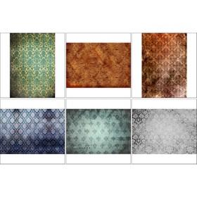 Набор декупажных карт 6 шт «Винтажные фоны»