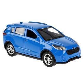 Машина металлическая KIA SPORTAGE 12см, открывающиеся двери, инерционная, цвет синий