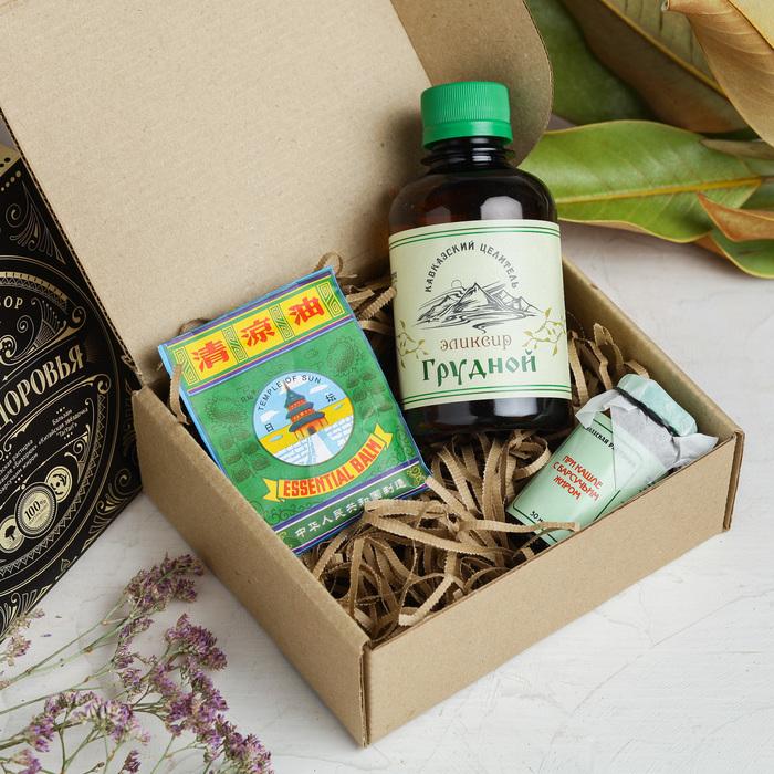 Подарочный набор «Для Вашего здоровья», 15 х 13 х 5,5 см