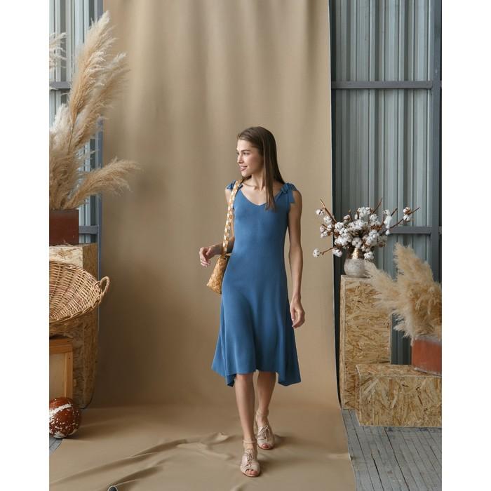 """Платье женское MINAKU """"Марте"""", вид 2, размер 44-46, цвет голубой"""