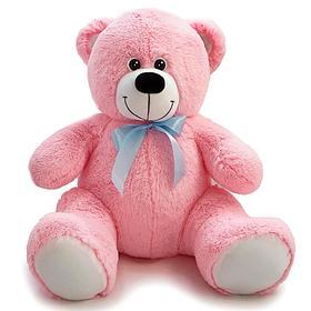 Мягкая игрушка «Мишка Кузя», 80 см, цвет розовый