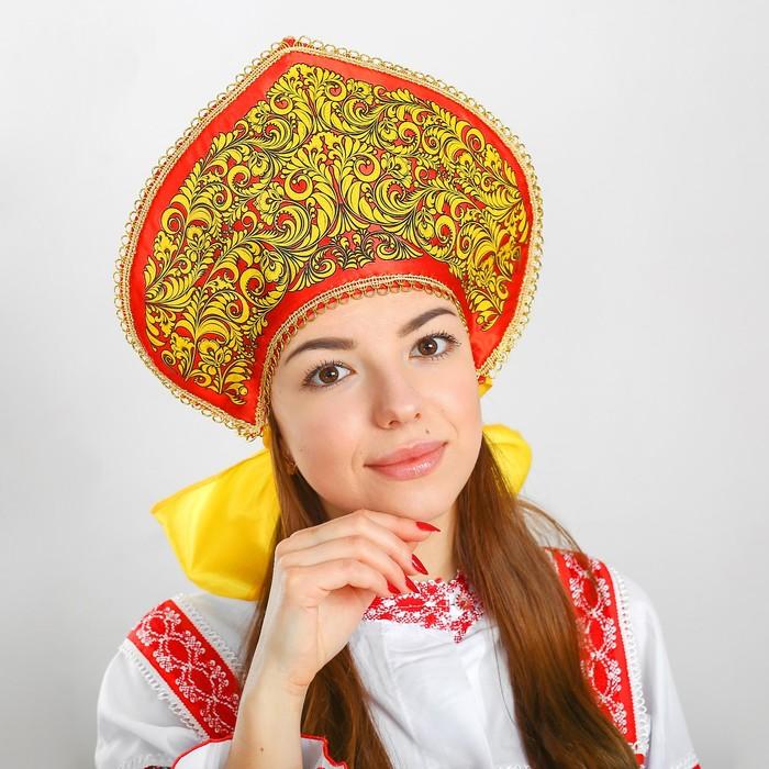 Кокошник «Завиток золотой»