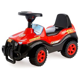 Каталка «Машина», цвет чёрный, до 30 кг
