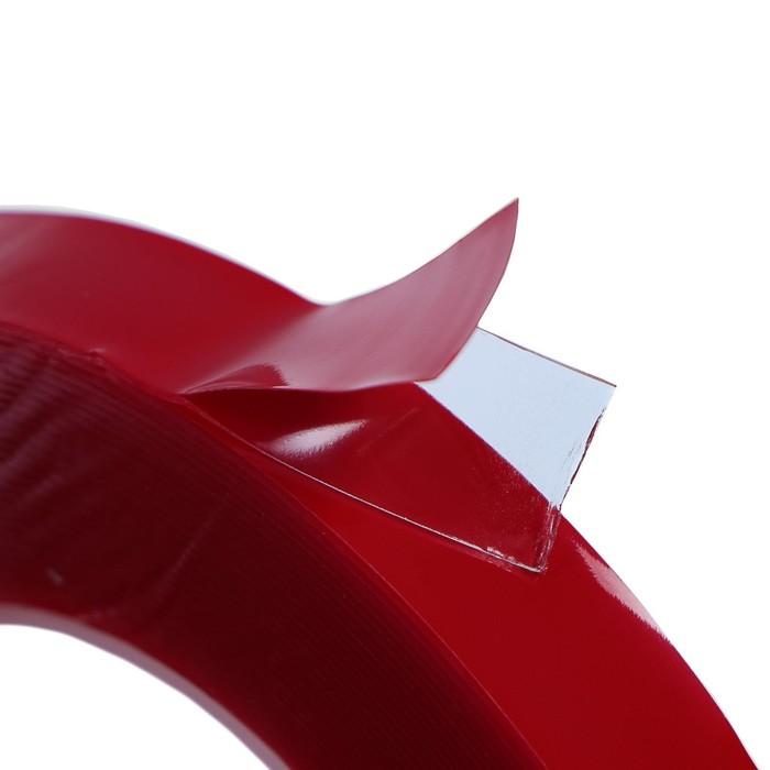 Клейкая лента TORSO, прозрачная, двусторонняя, акриловая, 12 мм x 7 м