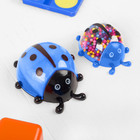 """Набор для творчества """"Слим божья коровка с шариками своими руками"""", цвет синий"""