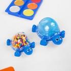 """Набор для творчества """"Слим черепашка с шариками своими руками"""", цвет синий"""